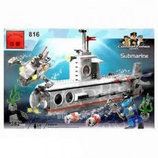 Конструктор BRICK 816 Submarine